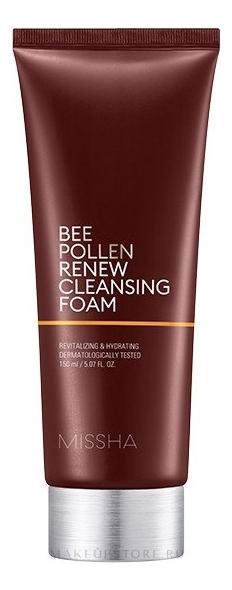 Купить Очищающая пенка для лица Bee Pollen Renew Cleansing Foam 150мл, Missha