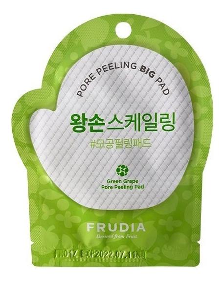 Отшелушивающие диски для лица с экстрактом зеленого винограда Green Grape Pore Peeling Pad: Диск 1 шт, Frudia  - Купить