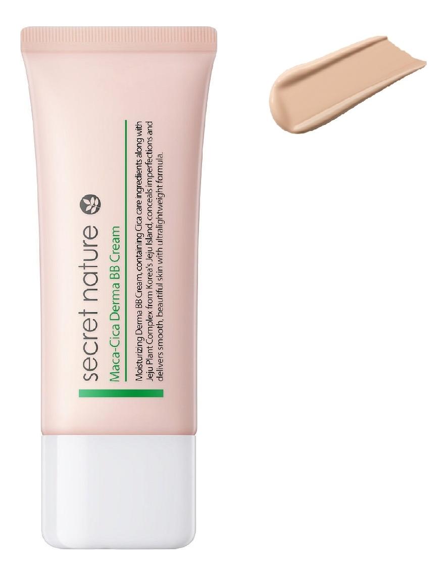 Купить BB крем для лица Maca-Cica Derma BB Cream 40мл: 21 Светло-бежевый, Secret Nature
