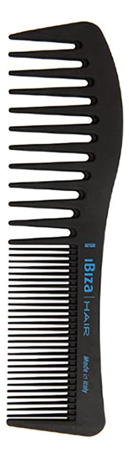 Карбоновая расческа для волос Carbon Comb Wave (волнистая)