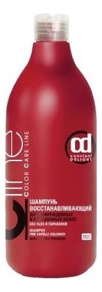 Купить Шампунь восстанавливающий для поврежденных и окрашенных волос Color Care Shampoo No SLS 1000мл, Constant Delight