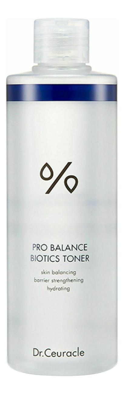 Фото - Тонер для лица с пробиотиками Pro Balance Biotics Toner 100мл dr ceuracle увлажняющий крем для лица с пробиотиками pro balance biotics moisturizer 100 мл