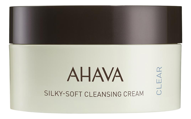 Фото - Нежный шелковистый очищающий крем для лица Time To Clear Silky-Soft Cleansing Cream 100мл очищающий бальзам для лица hydro effect cleansing balm 100мл