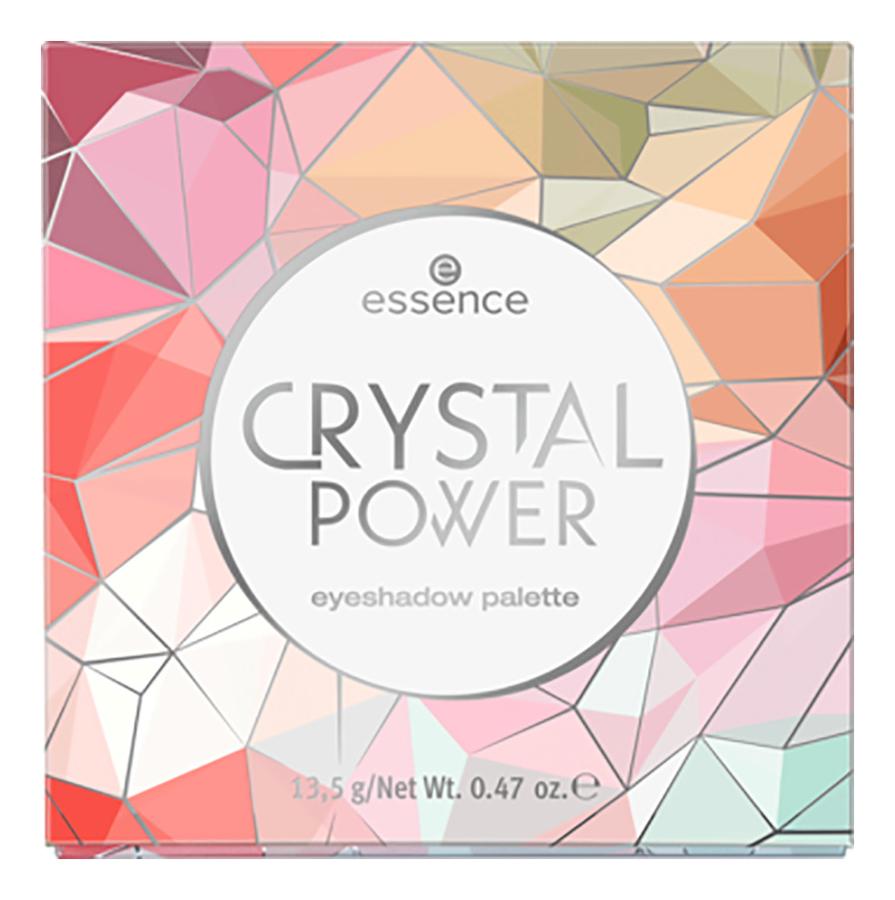 Палетка теней для век Crystal Power Eyeshadow Palette 13,5г