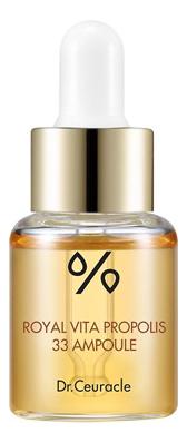 Купить Ампульная сыворотка для лица с экстрактом прополиса Royal Vita Propolis 33 Ampoule 15мл, Dr. Ceuracle