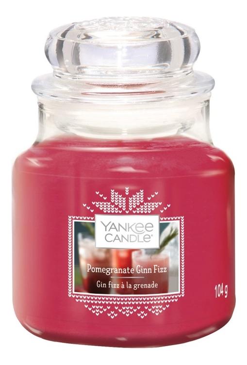 Купить Ароматическая свеча Pomegranate Gin Fizz: Свеча 104г, Yankee Candle