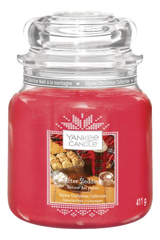 Ароматическая свеча After Sledding: Свеча 411г ароматическая свеча vibrant saffron свеча 411г