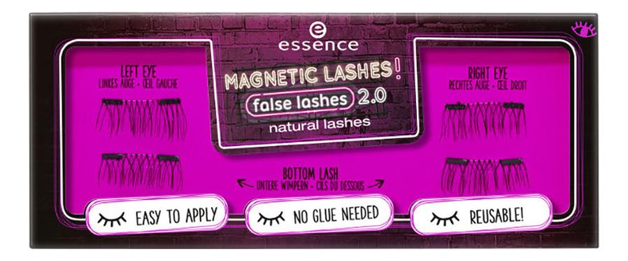 Накладные ресницы на магнитах Magnetic Lashes! False Lashes Natural