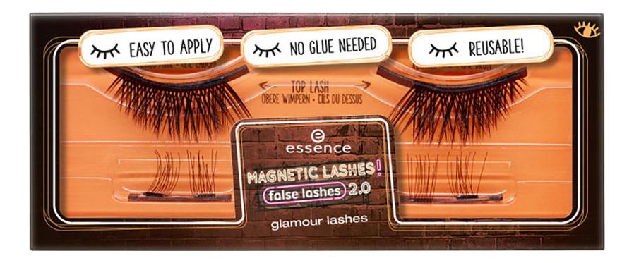 Накладные ресницы на магнитах Magnetic Lashes! False Lashes Glamour