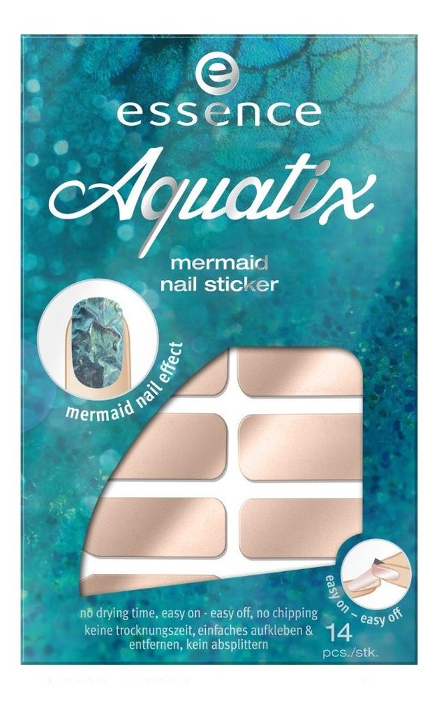 Наклейки для ногтей Aquatix Mermaid Nail Sticker