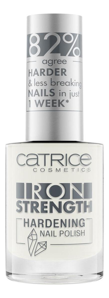 Лак для ногтей укрепляющий Iron Strength Hardening Nail Polish 10мл: 01 Crystal White