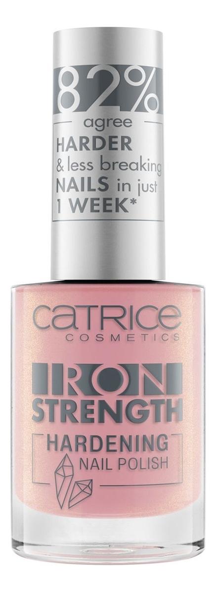 Лак для ногтей укрепляющий Iron Strength Hardening Nail Polish 10мл: 03 Lovely Rose Quartz