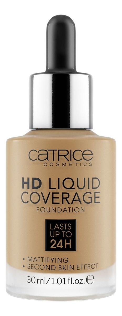 Тональная основа для лица HD Liquid Coverage Foundation 30мл: 060 Latte Macchiato Beige недорого
