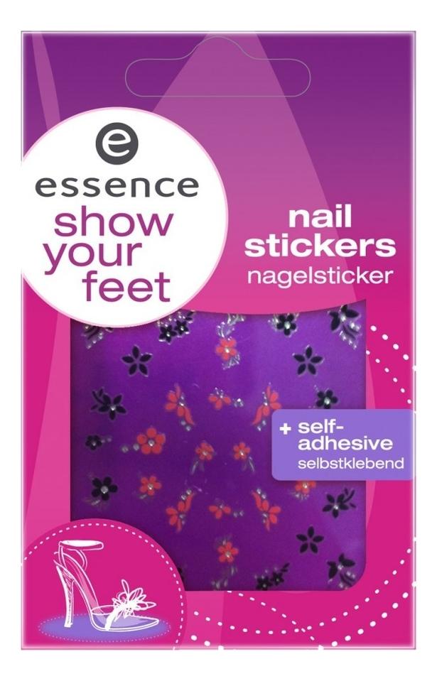 Наклейки для ногтей Show Your Feet