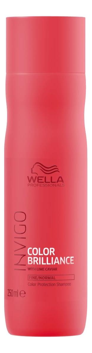 Фото - Шампунь для защиты цвета окрашенных нормальных и тонких волос Invigo Color Brilliance Shampoo: Шампунь 250мл оттеночный шампунь для поддержания цвета color protect shampoo 250мл copper