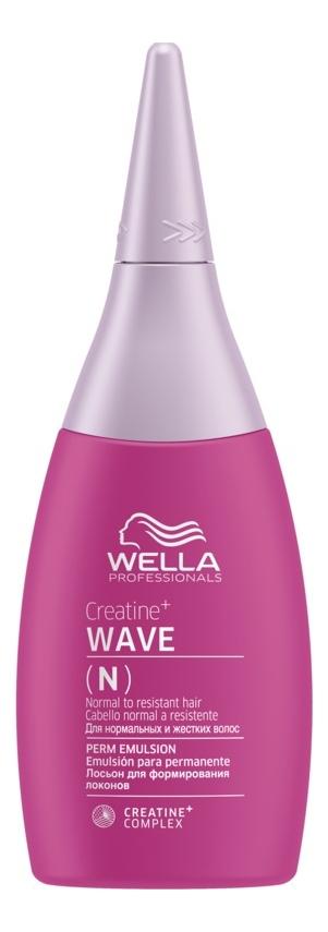 Лосьон для формирования локонов Creatine+ WAVE N Perm Emulsion 75мл