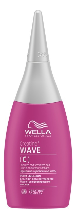 Лосьон для формирования локонов Creatine+ WAVE C Perm Emulsion 75мл