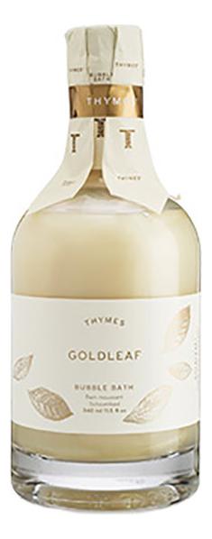 Купить Пена для ванны Goldleaf Bubble Bath: Пена 340мл, Thymes