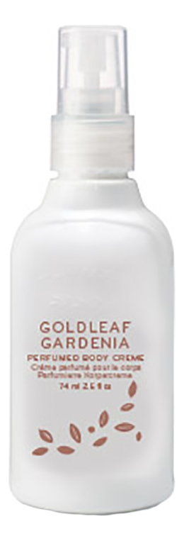Купить Крем для тела Goldleaf Gardenia Perfumed Body Creme: Крем 74мл, Thymes