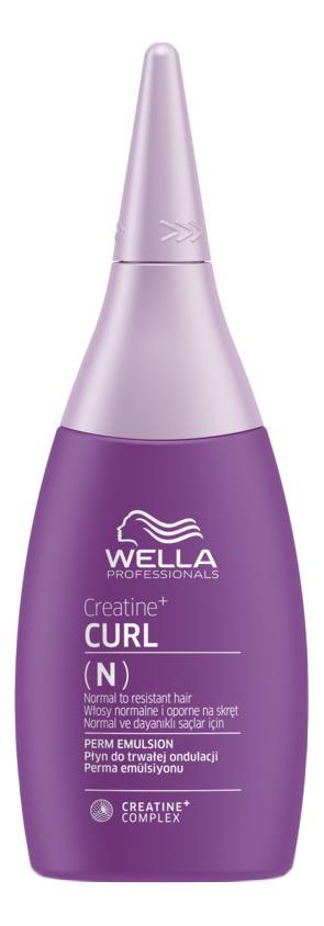 Купить Лосьон для формирования локонов Creatine+ Curl N Perm Emulsion 75мл, Wella