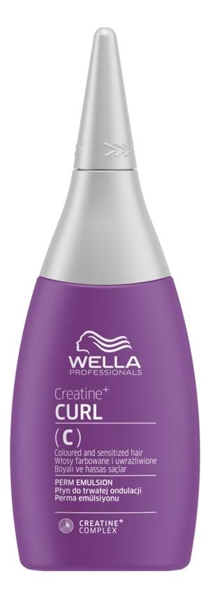 Лосьон для формирования локонов Creatine+ Curl C Perm Emulsion 75мл