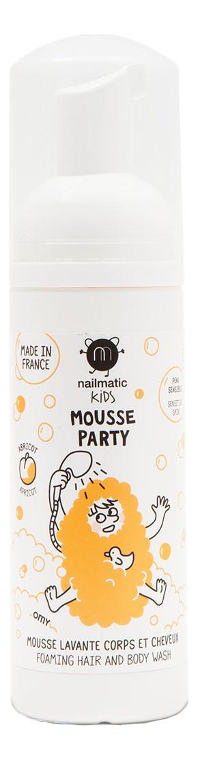Мусс для волос и тела Mousse Party Apricot 150мл