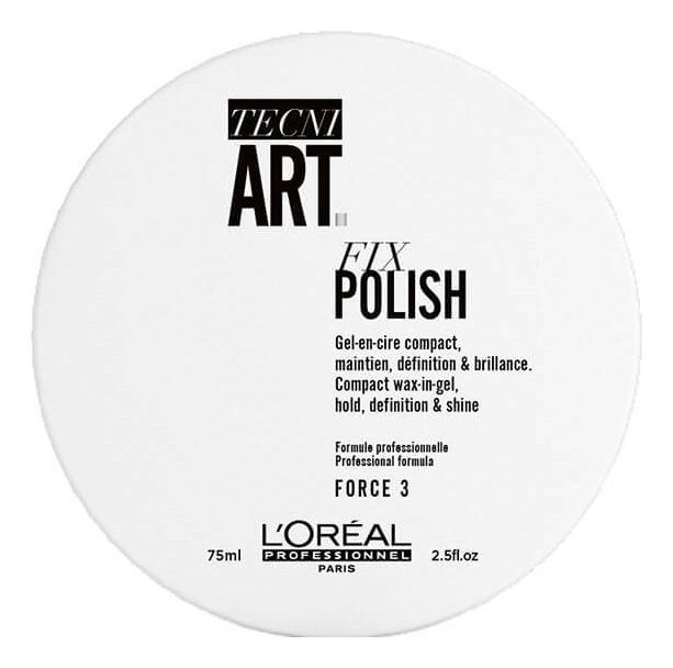 Гель-воск для фиксации волос Tecni. Art Fix Polish Force 3 75мл