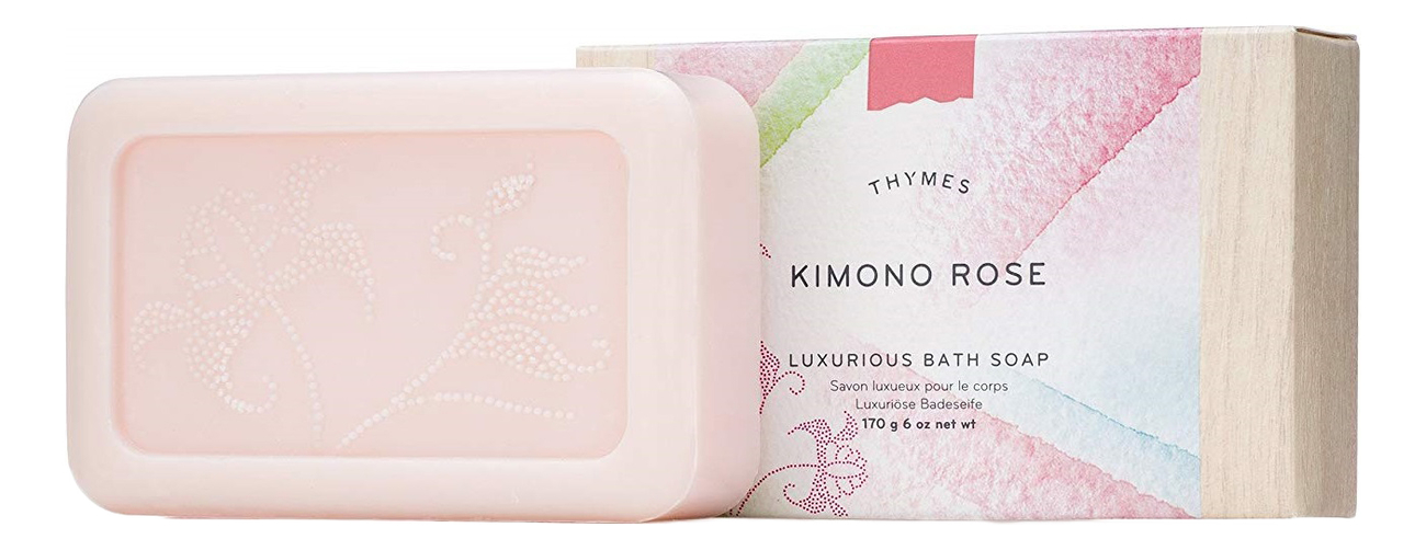 Мыло Kimono Rose Luxurious Bath Soap 170г