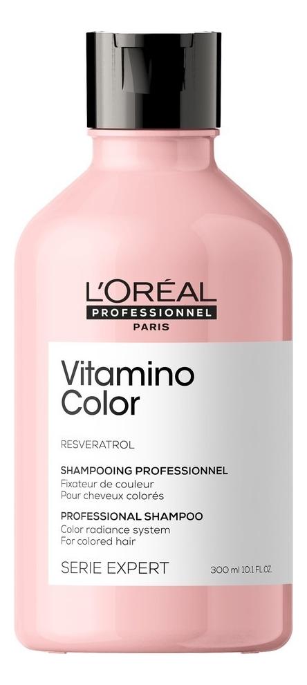 Шампунь для защиты цвета волос с ресвератролом Serie Expert Vitamino Color Resveratrol Shampooing: Шампунь 300мл шампунь для волос с молочком овса lait d avoine shampooing шампунь 100мл