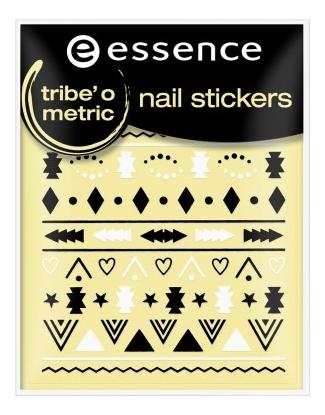 Наклейки для ногтей Nail Stickers Tribe'o Metric No18