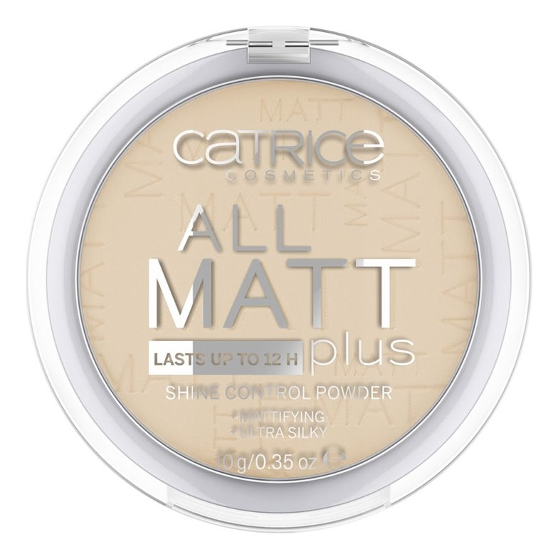 Компактная пудра для лица All Matt Plus Shine Control Powder 10г: 028 Honey Beige компактная пудра для лица all matt plus shine control powder 10г 001 universal