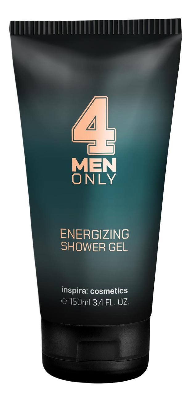 Тонизирующий очищающий гель для волос и тела 4 Men Only Energizing Shower Gel 150мл