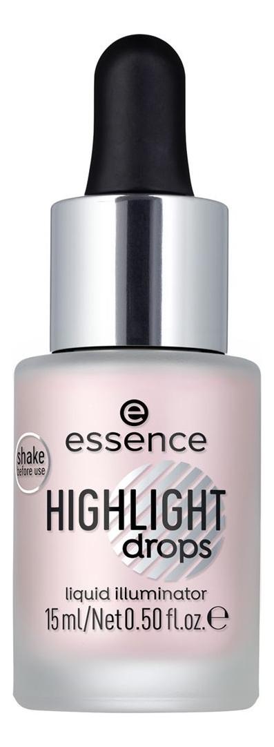 Хайлайтер для лица Highlight Drops Liquid Illuminator 15мл: 20 Rosy Aura
