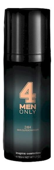 Купить Легкий укрепляющий крем для лица 24-часового действия 4 Men Only 24h Skin Supercharger 50мл, Inspira: cosmetics