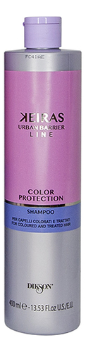 Фото - Шампунь для окрашенных и химически обработанных волос Keiras Color Protection Shampoo: Шампунь 400мл шампунь для волос кератиновый kaaral keratin color care 250 мл окрашенных и химически обработанных