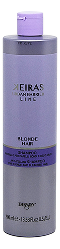 Шампунь для обесцвеченных волос против желтизны Keiras Blonde Hair Shampoo: Шампунь 400мл шампунь концепт от желтизны где купить