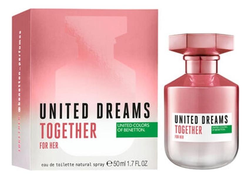Купить United Dreams Together For Her: туалетная вода 50мл, Benetton