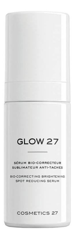 Купить Сыворотка для лица осветляющая Glow 27 Bio-Correcting Brightening Spot Reducing Serum 30мл, COSMETICS 27