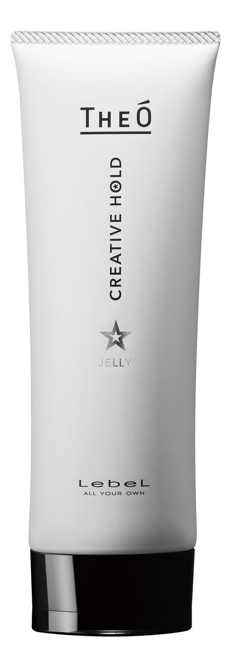 Купить Гель для укладки волос сильной и подвижной фиксацией Theo Jelly Creative Hold 120г, Lebel