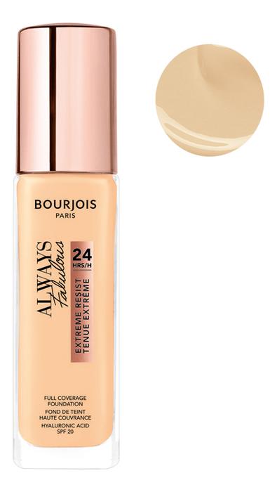Купить Тональный крем для лица Always Fabulous Full Coverage Foundation 30мл: 110 Light Vanilla, Bourjois