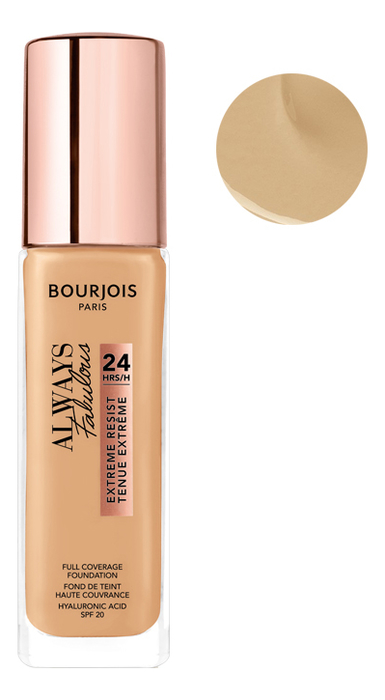 Купить Тональный крем для лица Always Fabulous Full Coverage Foundation 30мл: 125 Ivory, Bourjois