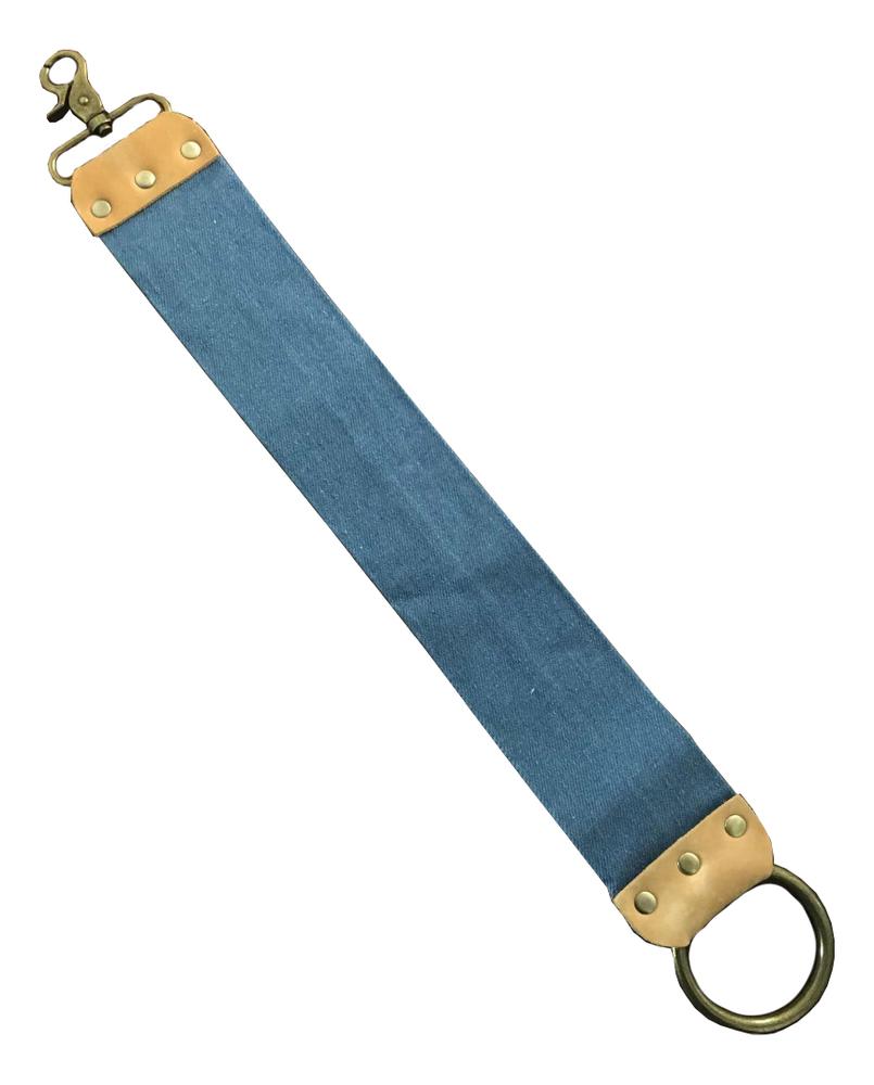 Ремень для правки опасной бритвы (джинсовая ткань)