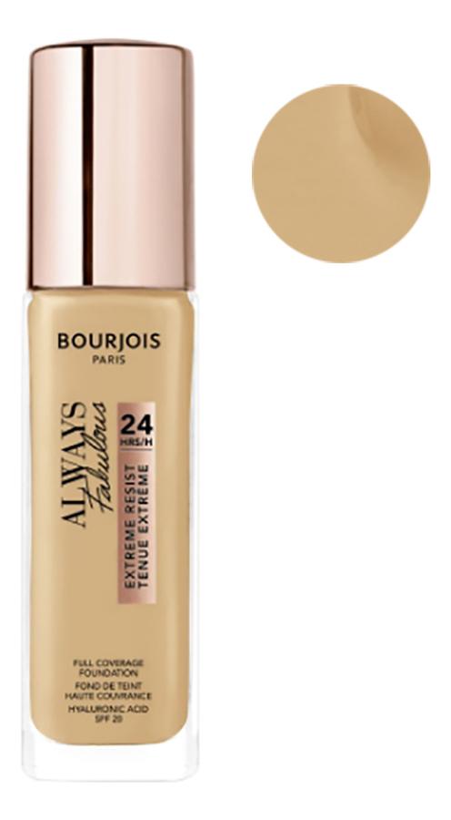 Купить Тональный крем для лица Always Fabulous Full Coverage Foundation 30мл: 310 Beige, Bourjois