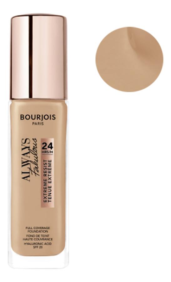 Купить Тональный крем для лица Always Fabulous Full Coverage Foundation 30мл: 400 Rose Beige, Bourjois
