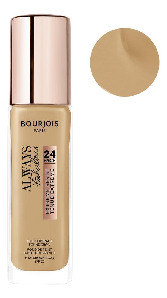 Купить Тональный крем для лица Always Fabulous Full Coverage Foundation 30мл: 410 Beige Dore, Bourjois