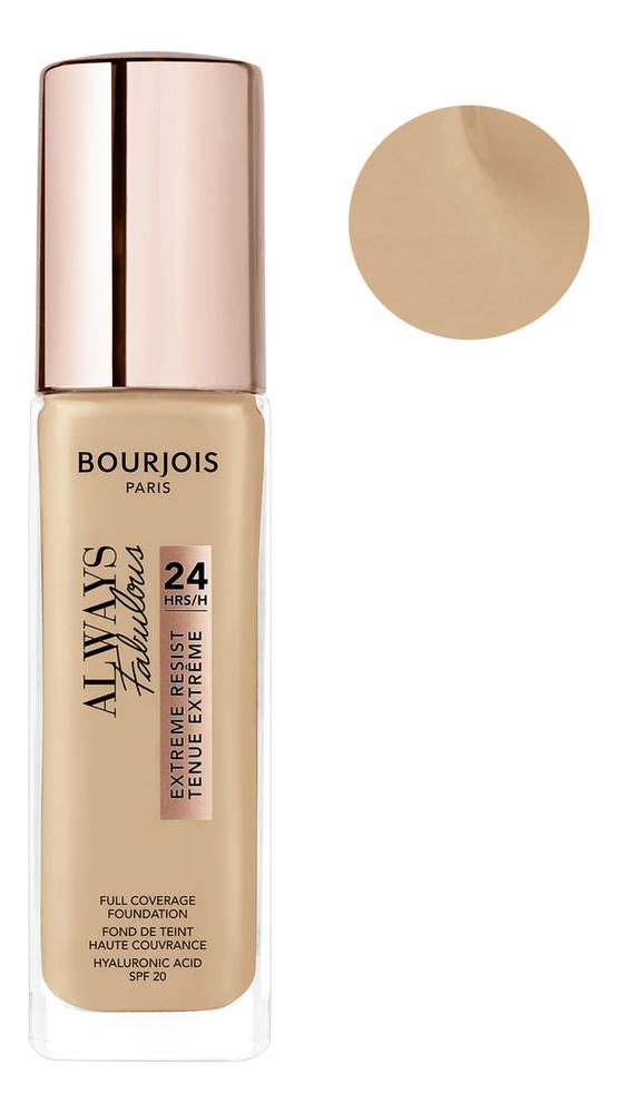 Тональный крем для лица Always Fabulous Full Coverage Foundation 30мл: 420 Sable Clair, Bourjois  - Купить
