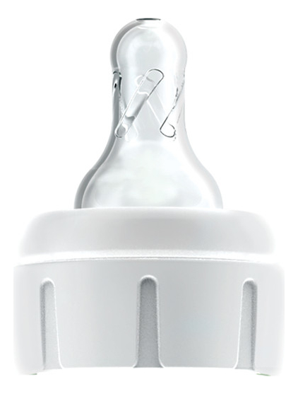 Силиконовая соска для узких бутылочек с крышкой-держателем д/глубоко недоношенных детей