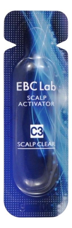 Сыворотка-активатор для жирной кожи головы EBC Lab Scalp Clear Scalp Activator 14*2мл