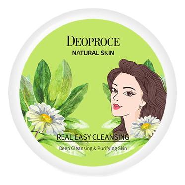 Фото - Крем для лица очищающий Natural Skin Real Easy Cleansing 100мл очищающий бальзам для лица hydro effect cleansing balm 100мл