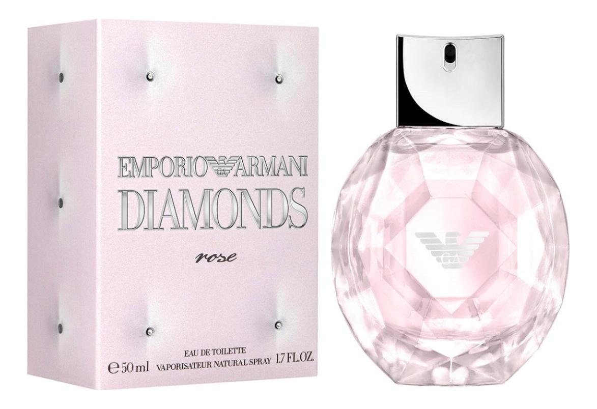 Emporio Diamonds Rose: туалетная вода 50мл giorgio armani rose milano туалетная вода